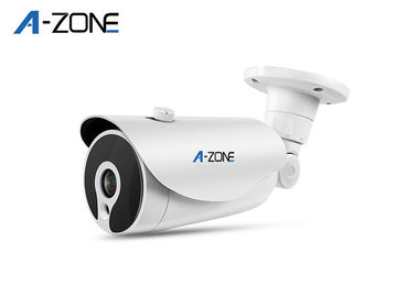 Outdoor High Definition IP Security Camera 3 Megapixel P2P Layanan OEM