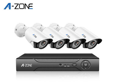 Waterproof 4CH IP CCTV Camera Kit 4 Channel Ip Nvr 20m IR Range
