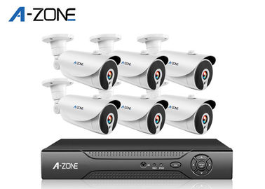 Cina Sistem Keamanan 3MP 6 Channel Dvr Profesional Hd Cctv Camera Kit pabrik